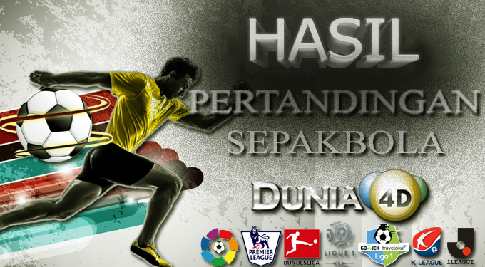 HASIL PERTANDINGAN BOLA 05 – 06 APRIL 2020