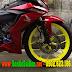 Sơn mâm vàng chanh cực đẹp cho xe máy