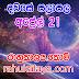 රාහු කාලය | ලග්න පලාපල 2020 | Rahu Kalaya 2020 |2020-04-21