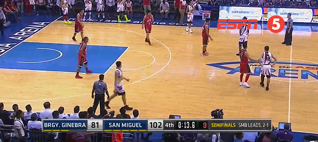 San Miguel def. Ginebra, 102-81 (REPLAY VIDEO) Semis Game 4 / March 15