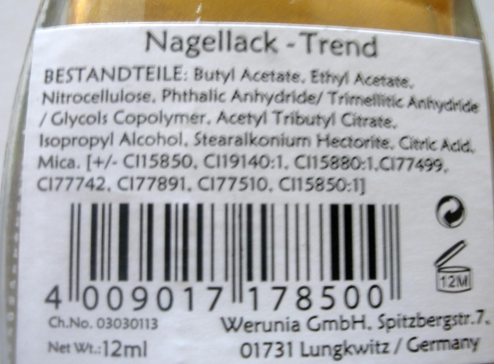 Beauty & Lifestyle Blog für die Frau ab 40: Nagellack der Marke ...
