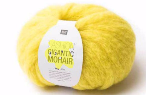 crochet yarn fashion gigantic mohair
