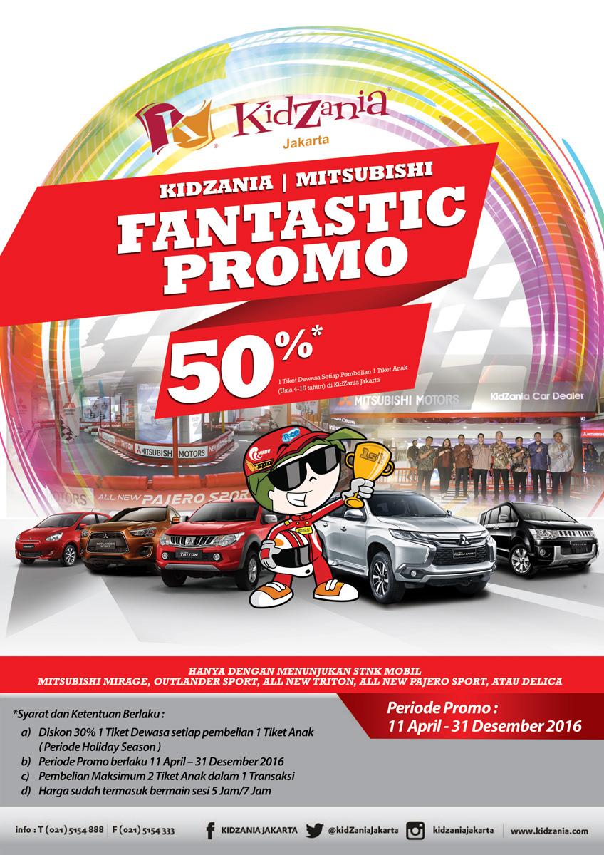Promo Kidzania 11 April 31 Desember 2016 Dealer Mitsubishi Batam Tiket