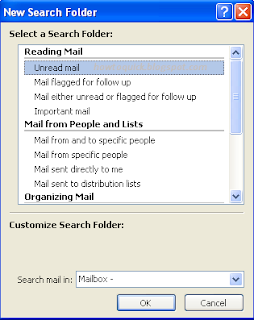 Unread Mail Folder