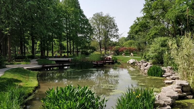 สวนสาธารณะทะเลสาบเสวียนอู่ (Xuanwu Lake Park: 玄武湖公园)