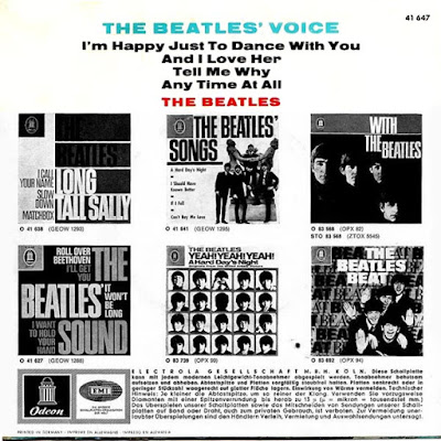 The Beatles Voice (EP Oct 1964)