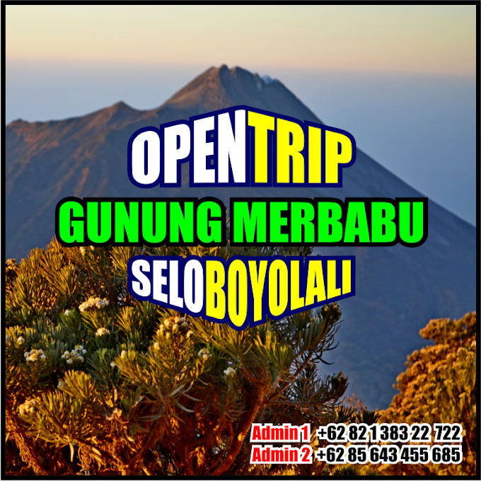 Open Trip 2021 Gunung Merbabu Jalur Pendakian Selo