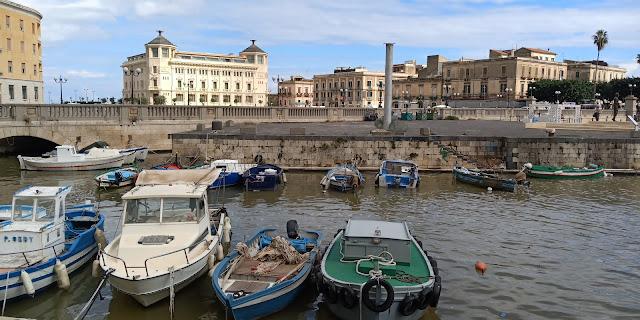 Goldring Travel's 2018 Culinary & Cultural Cruise - Part V (Syracusa, Sicily and Crotone, Italy...and Chef David )