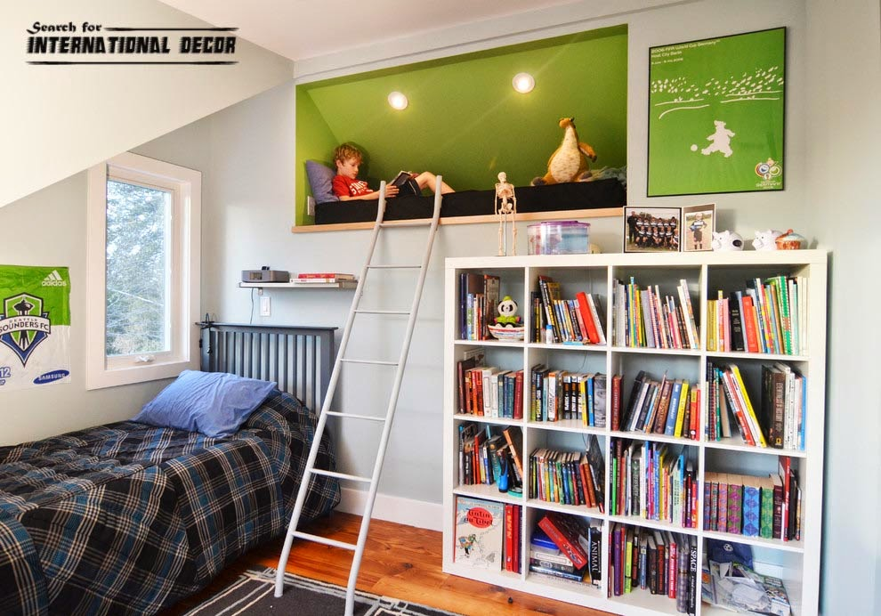 Design small child's room, How to save space