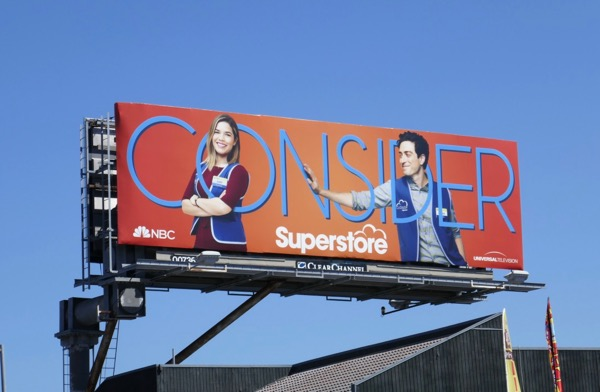Superstore 2018 Emmy FYC billboard