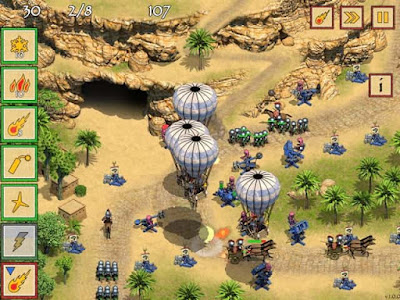 Free Download Game Defense of Egypt: Cleoptara Mission Indir
