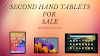 How can you buy a second hand tablet?