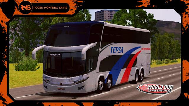 Skins World Bus Driving Simulator, Empresa tepsa