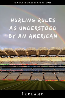 Hurling rules as understood by an American