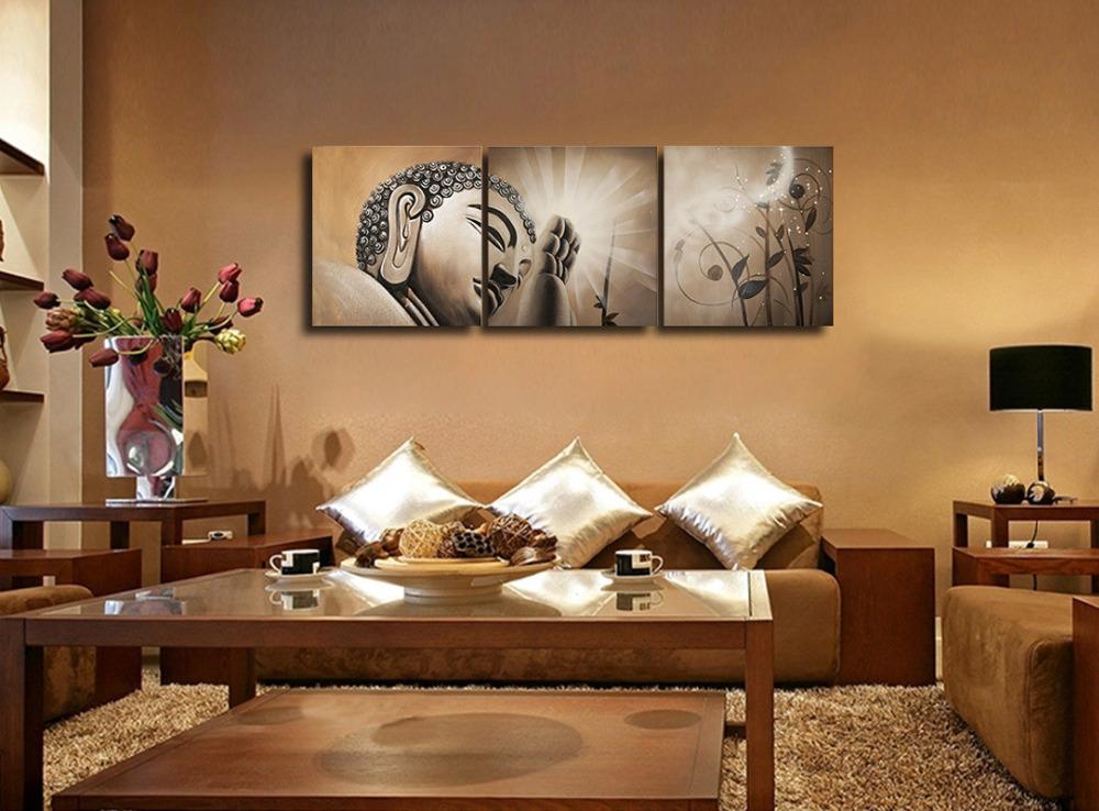 El blog de nitya buda en casa ahora en la pared for Decoracion zen interiores
