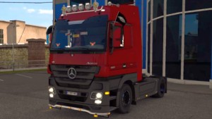 Mercedes Actros MP3 truck mod by HillG