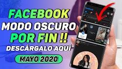 COMO ACTIVAR EL MODO OSCURO EN FACEBOOK OFICIAL / MÉTODO FUNCIONAL MAYO  2020