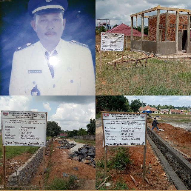 Desa Mekar Jaya Realisasi Pembangunan dan Aktif Memutus Mata Rantai Virus Corona