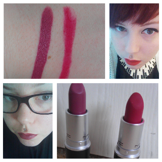 "Views, Shoes And Beauty News.: MAC ""Captive"" And ""Ruby Woo"""