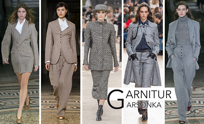 trendy jesien zima 2017 garnitury damskie