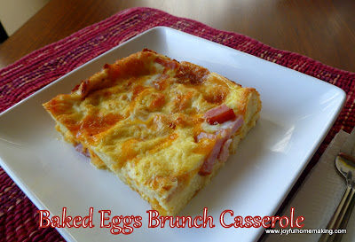 Baked Eggs and Cheese