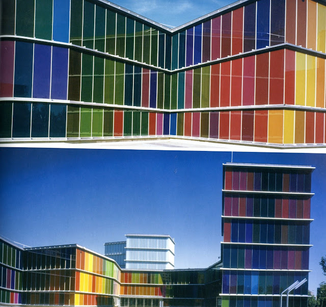 Colorful Buildings: Life In Color: In Full Colour: Recent Buildings And Interiors