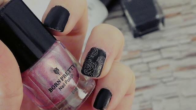 Born Pretty Matte Black Design