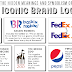 The Hidden Meanings Behind 50 Iconic Brand Logos #infographic