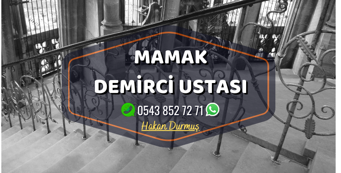 Ankara Mamak Demirci Merdiven Demiri - Ferforje Demir - Balkon Demiri - Bahçe Demiri