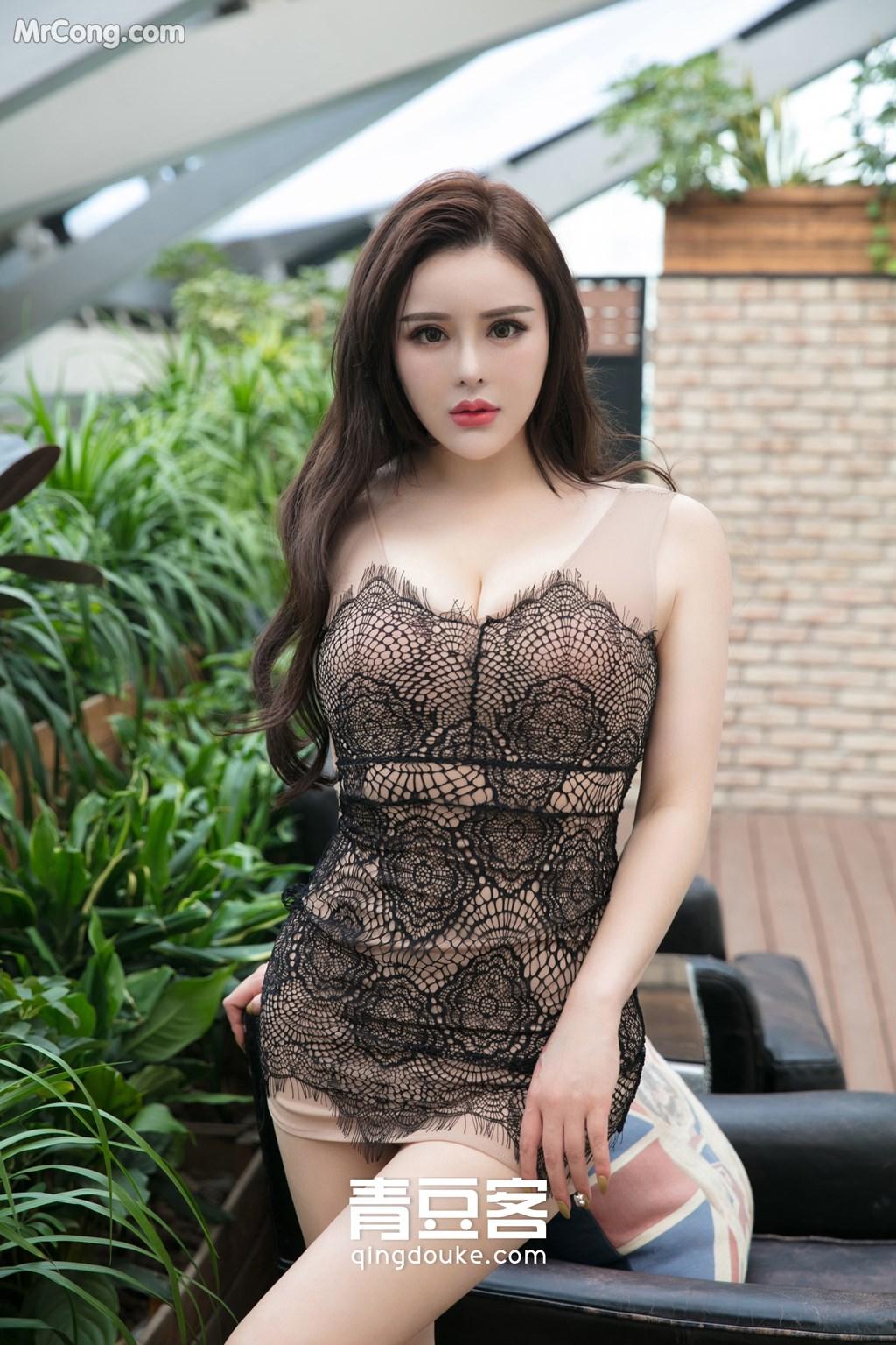 Image QingDouKe-2017-11-18-Jin-Baby-MrCong.com-004 in post QingDouKe 2017-11-18: Người mẫu Jin Baby (金baby) (49 ảnh)