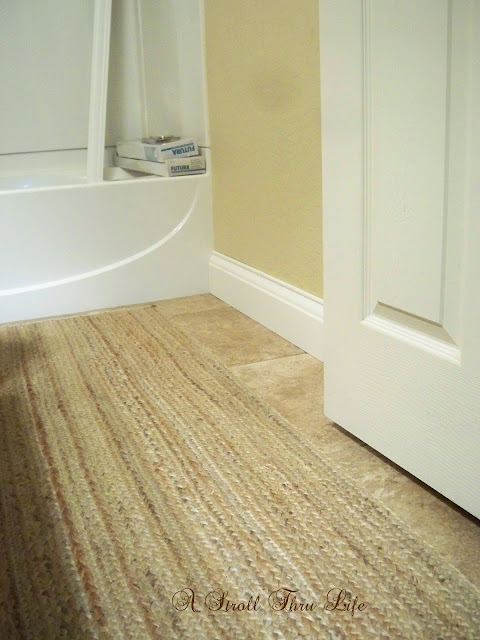 A Stroll Thru Life Install Wide Baseboard Molding Over