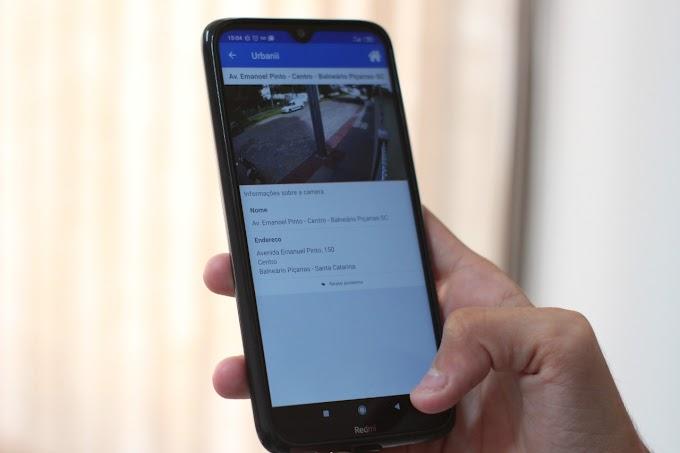 Câmeras de monitoramento ao vivo já podem ser acessadas por moradores em Balneário Piçarras