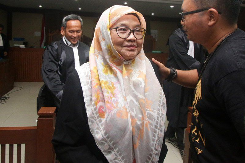 Siti Fadilah Supari Bebas dari Penjara