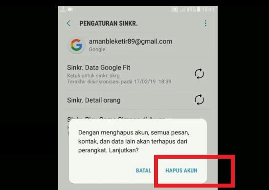 Proses Keluar Dari Akun Google Mail 2