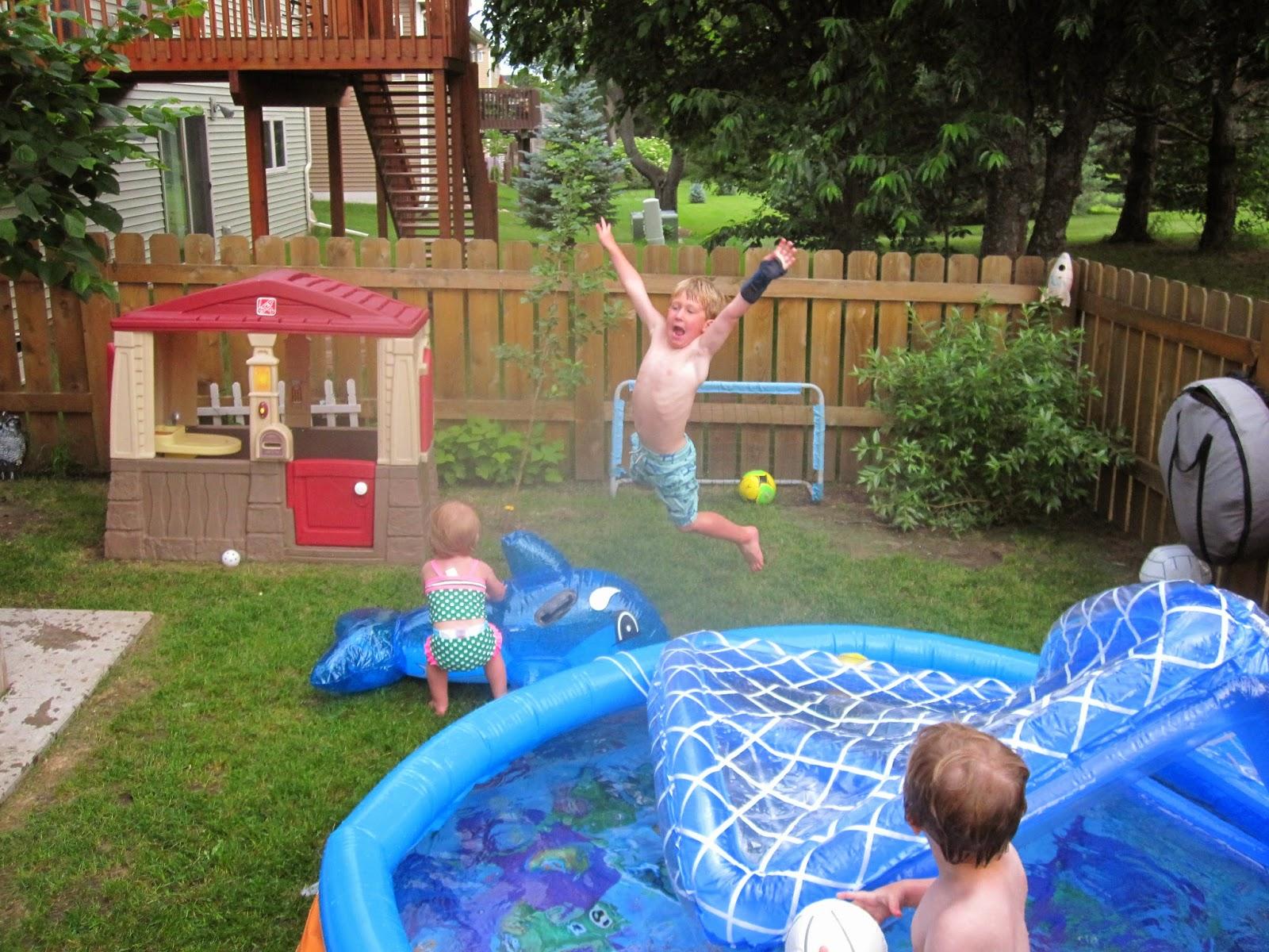 Harry Times...All Jacked Up: Backyard Ocean Backyard Oasis