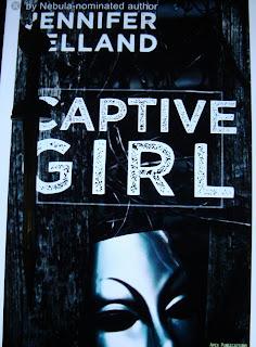 Portada del libro Captive Girl, de Jennifer Pelland