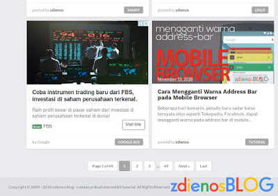 Cara Membuat Copyright Year Auto Update pada Template Blogger
