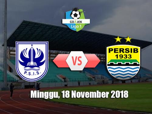 Persib VS PSIS Semarang 18 November 2018