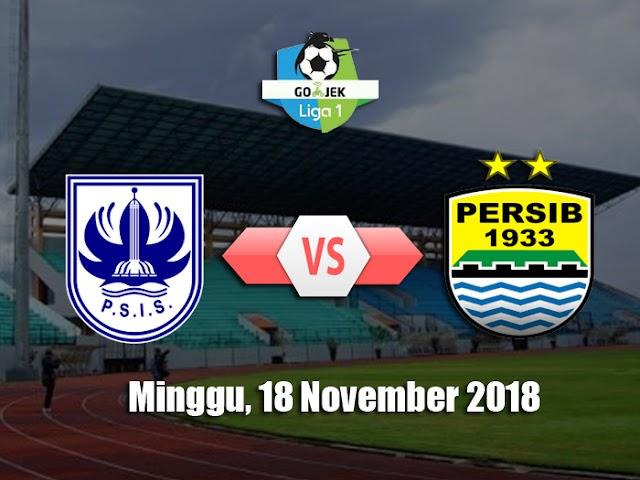 Laga Pekan ke-31, Persib Hadapi PSIS Semarang pada 18 November 2018