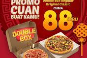 Promo Diskon PHD 2 Box Pizza Harga Rp.88.000 Periode 24 - 26 Januari 2020