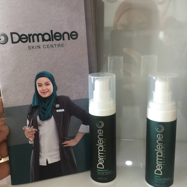 Dermalene skincare products