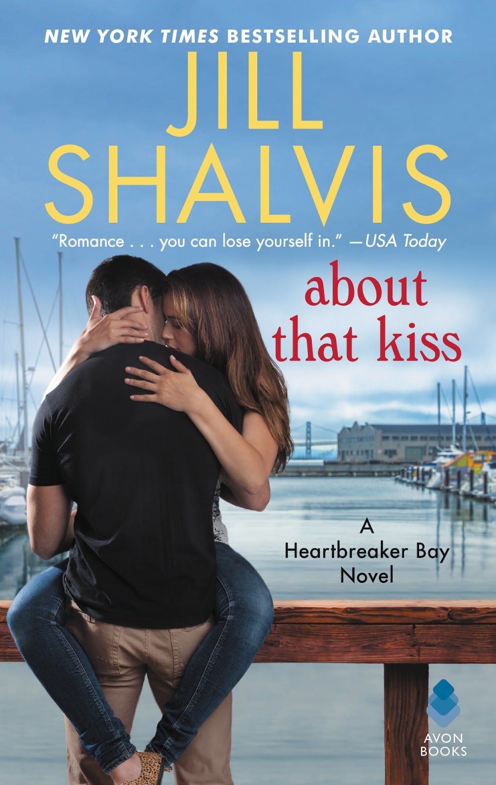 Giveaway And Review For About That Kiss Heartbreaker Bay 5 By Jill Shalvis