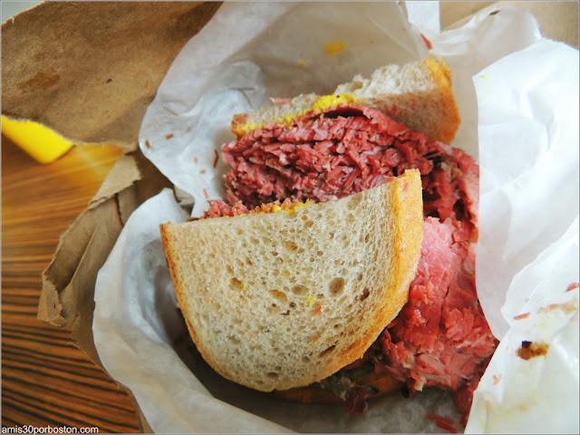 Schwartz's: Sándwich de Carne Ahuma Medium Fat