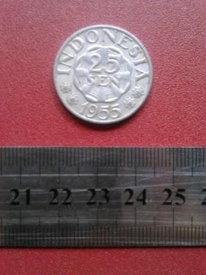 25 sen tahun 1955