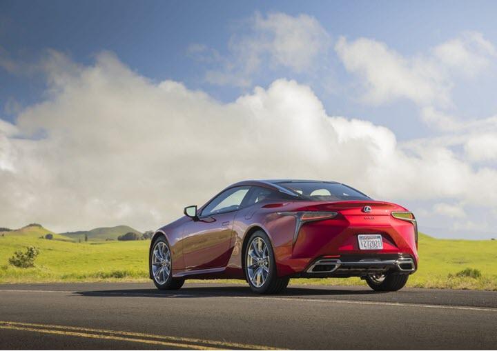 Lexus LC Coupe 2021 ra mắt - nhẹ và thể thao hơn
