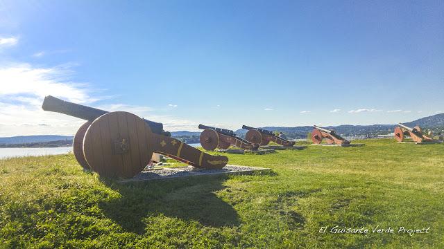 Baterías defensivas, Hovedøya - Oslo por El Guisante Verde Project