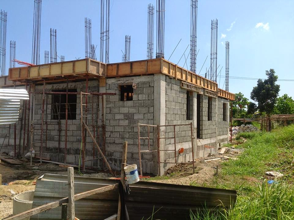 Construction Plans For Houses Iloilo House Simple Design Philippines Latest In Contractors One Storey