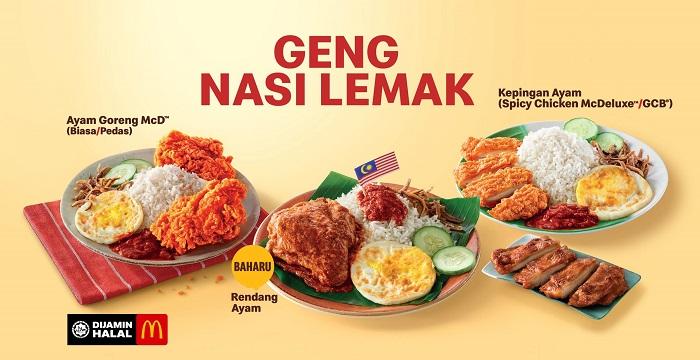 McDonalds Malaysia Mekdi Outlets Nasi Lemak Cendol Ice Cream