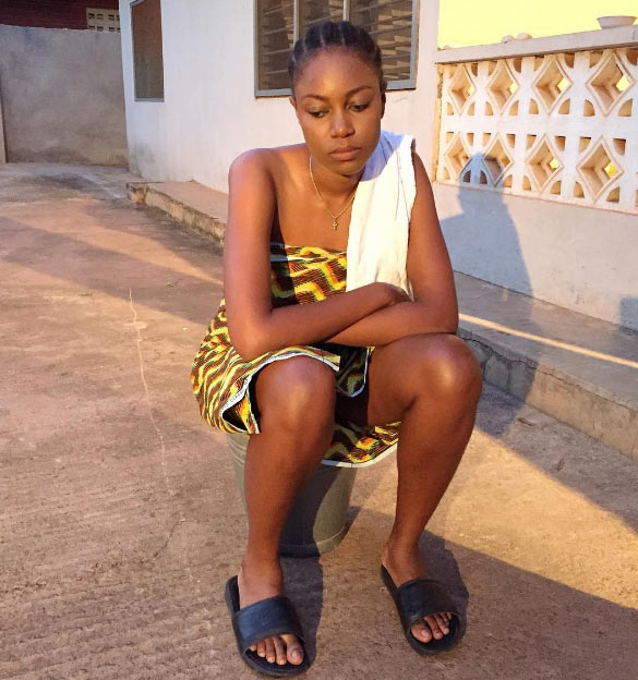 Caption this photo of Yvonne Nelson