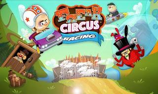 """Game Android """" Freak Circus Racing"""", Serunya Balap Mobil dengan Orang-Orang Sirkus"""